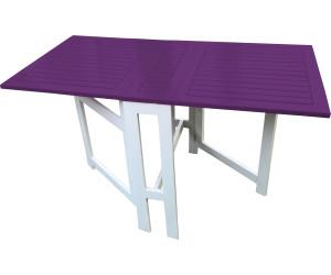 city green table console pliante burano 75 135 x 65 cm aubergine au meilleur prix sur. Black Bedroom Furniture Sets. Home Design Ideas
