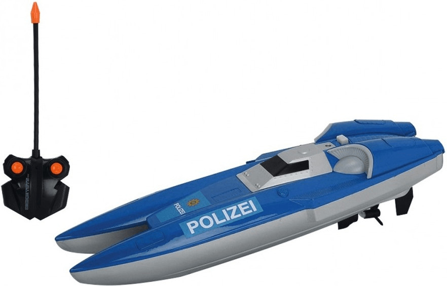 Dickie RC Polizei Boot RTR