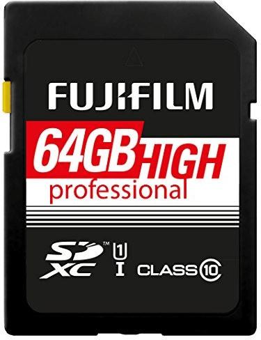 Fujifilm SDXC High Professional UHS-I 64GB (4005321)