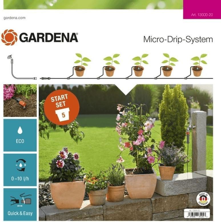 Gardena Start Set Pflanztöpfe S (13000-20) | Garten > Teiche und Zubehör