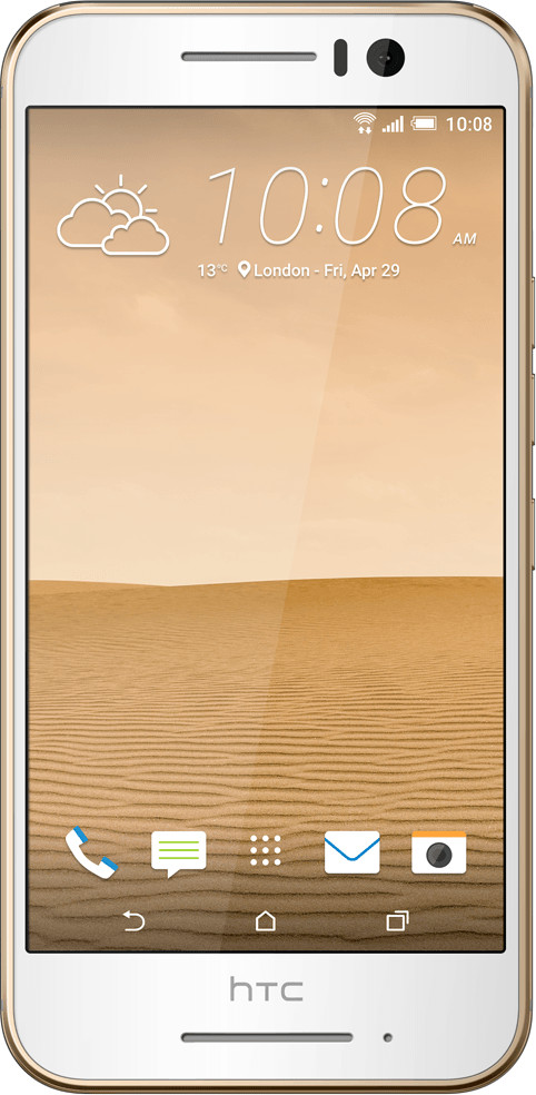 HTC One S9 Gold on Gold