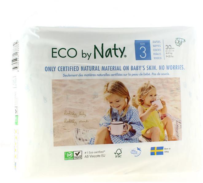 Naty Eco Größe 3 (4-9 kg) 34 Stk.