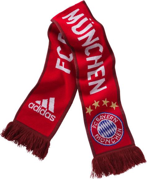 Adidas FC Bayern München Schal 2015/16 rot