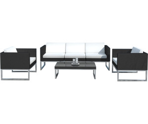 delorm design salon de jardin en r sine tress e noire au meilleur prix sur. Black Bedroom Furniture Sets. Home Design Ideas