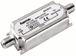 Hama 44131 Inline-Verstärker 20dB