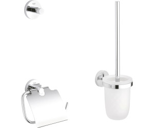 Toilet Accessoires Set : Grohe essentials wc set in ab