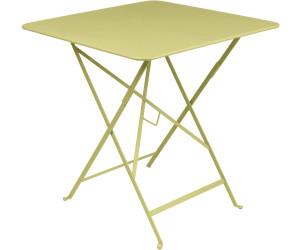 Fermob Table pliante Bistro 57x57 cm tilleul au meilleur ...