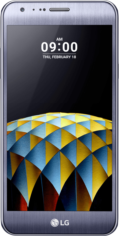LG X cam Titan silver