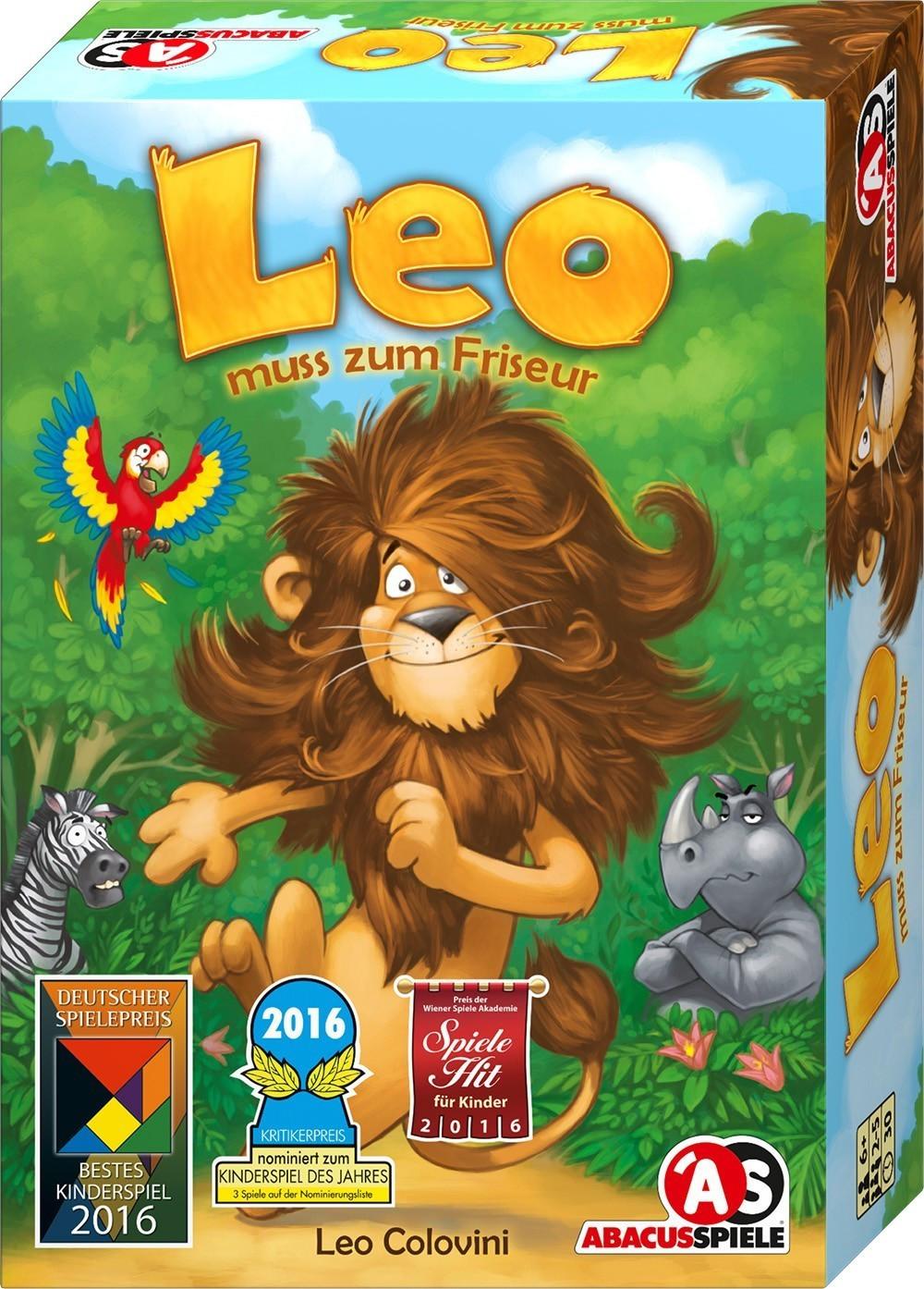 Abacusspiele Leo muss zum Friseur (4161)