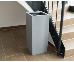 Eleganteinrichten Pflanzsäule grau (30x30x60cm)