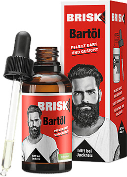 Brisk Bartpflege Bartöl (50ml)