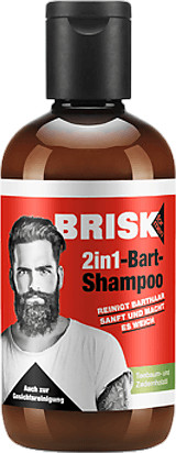 Brisk Bartpflege 2in1 Bart Shampoo (150ml)