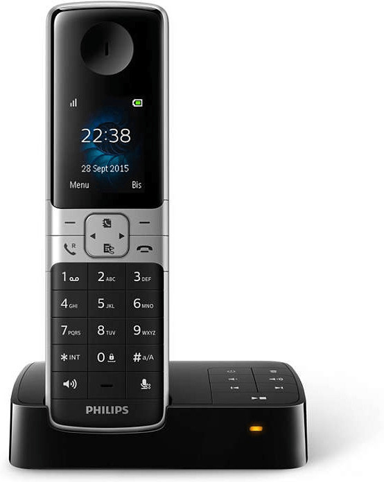 Philips D6351 Solo schwarz