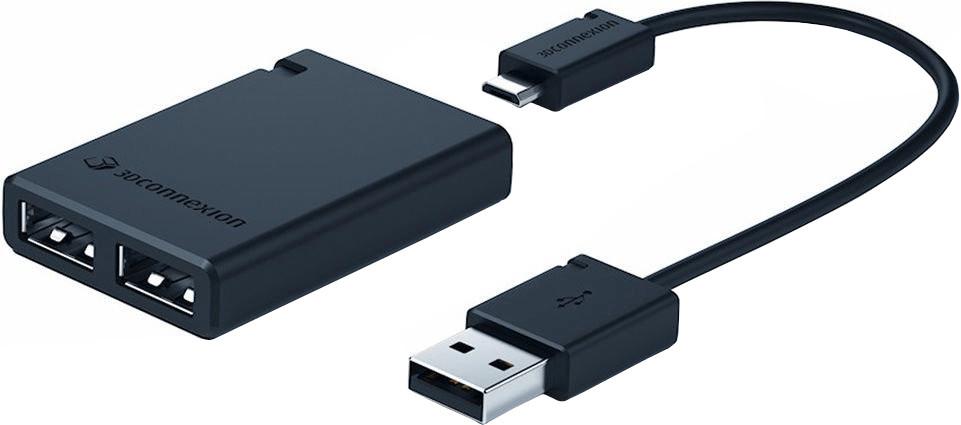 Image of 3Dconnexion 2 Port USB 2.0 Hub (3DX-700051)