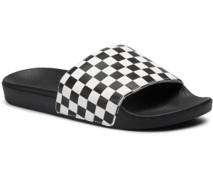 Vans Herren Slide-on Sandalen, Schwarz (Checkerboard), 43 EU