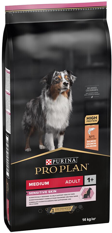 Purina Pro Plan Adult Medium Sensitive Skin OptiDerma (14 kg)