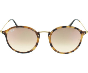 Ray-Ban Round Fleck RB2447. RB2447-1160 7O (havana-gold rosegold mirrored  gradient) cd5f226e47