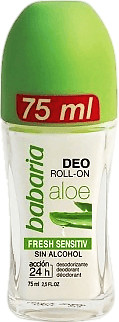 Babaria Aloe Vera Deodorant Roll on (75 ml)