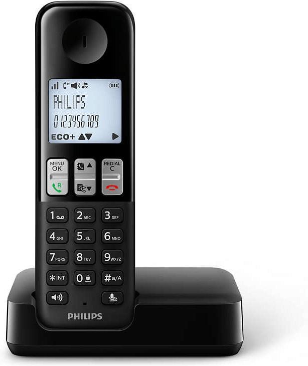 Philips D2301 Solo schwarz