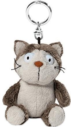 NICI Schlüsselanhänger Katze braun