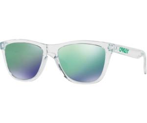 Oakley Sonnenbrille Frogskins Colorblock Collection Jade Iridium Matte clear Brillenfassung - Lifestylebrillen ttT1AA7i,