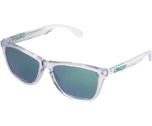 Oakley Sonnenbrille Frogskins Colorblock Collection Jade Iridium Matte clear Brillenfassung - Lifestylebrillen 6NSRZpual,