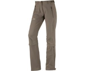 VAUDE Damen Wanderhose Trekkinghose Women Farley Stretch Capri T-Zip II Black