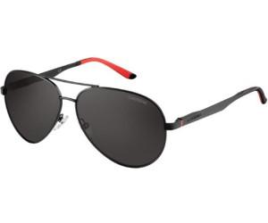 Carrera Eyewear Herren Sonnenbrille » CARRERA 8010/S«, schwarz, 003/M9 - schwarz/grau