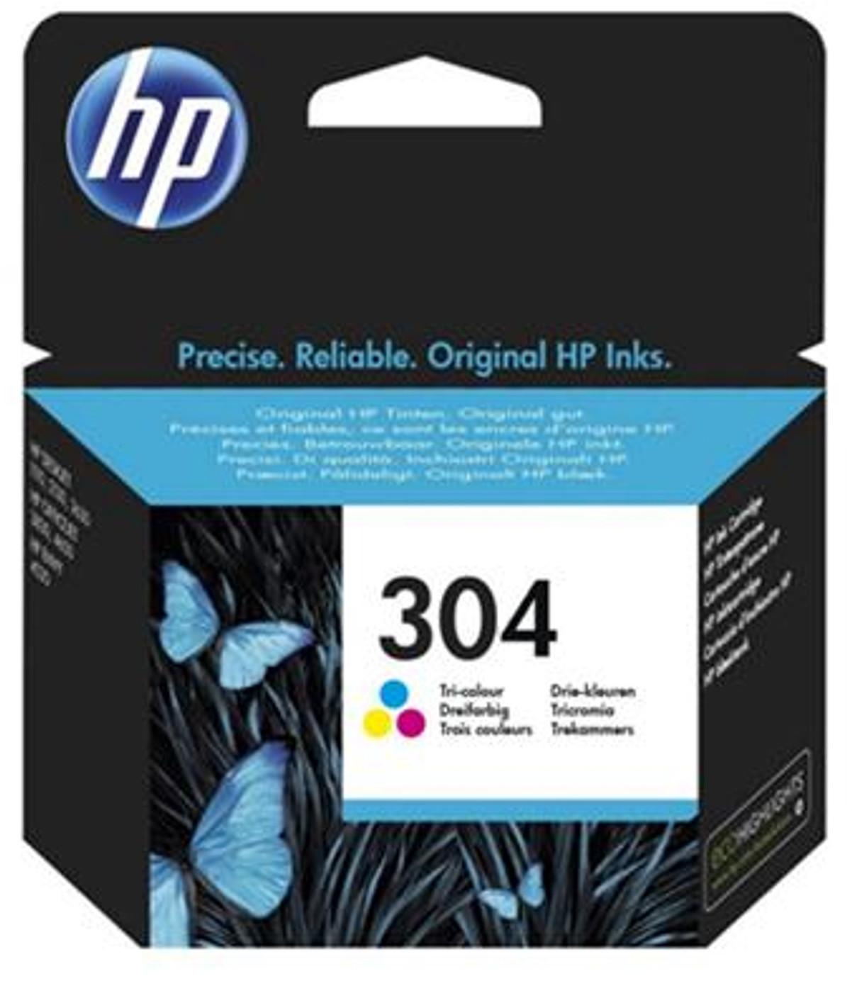 HP Nr. 304 3-farbig (N9K05AE)