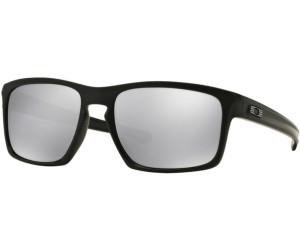 e361dff7b8a Buy Oakley Sliver OO9262-26 (matte black chrome iridium) from £56.86 ...
