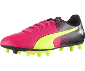 best price buying cheap price reduced Puma evoSPEED 5.5 Tricks FG pink glo/safety yellow/black au ...