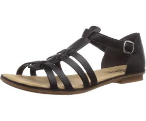 Rieker 64288 01, Women's Heels Sandals, Black (Black