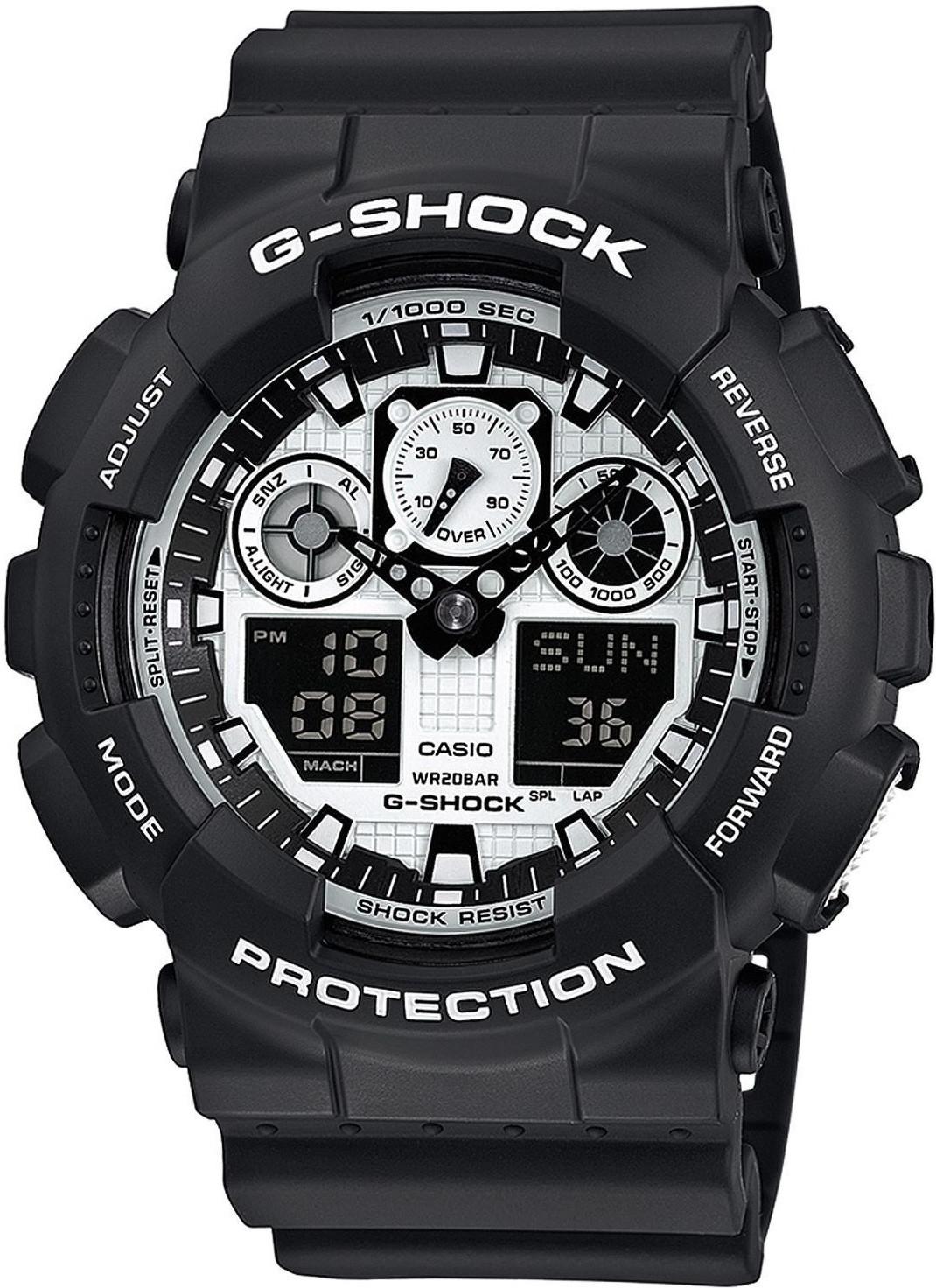 Casio G-Shock (GA-100BW-1AER)