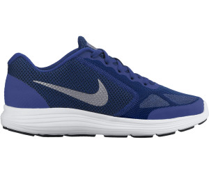 NIKE REVOLUTION 3 GS BLUE ROYAL/GREEN SNEAKERS RUNNING819413 403