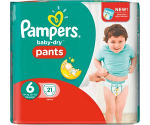 Pampers Baby Dry Pants T6 16 Kg Au Prix De 3171 Sur Idealofr