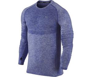 Nike Dri-Fit Knit Langarm Herren Laufshirt (717760) ab 38,00 €    Preisvergleich bei idealo.de