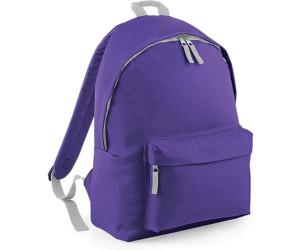 Bagbase Junior Fashion Backpack purple/light grey