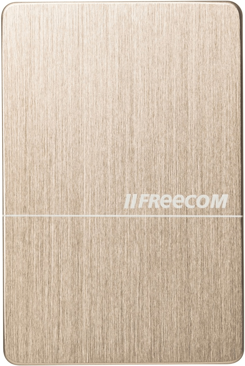 Image of Freecom mHDD Slim 1TB gold