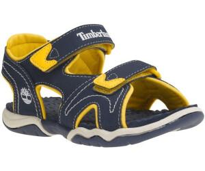 Timberland Kids Adventure Seeker 2-Strap Sandal Blau, Kinder Sandale, Größe EU 26 - Farbe Navy-Blue-Red