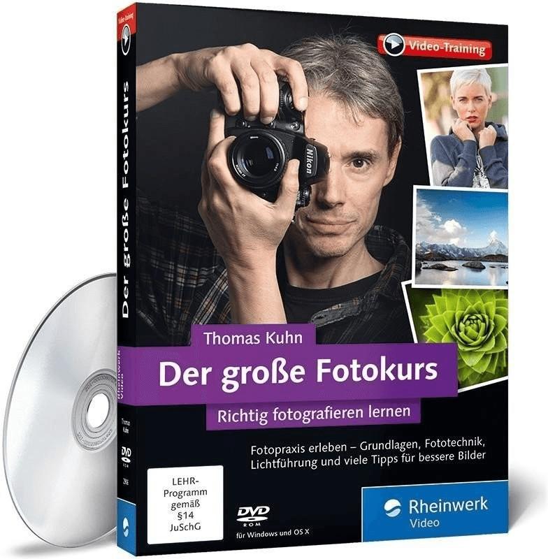 Rheinwerk Verlag Der große Fotokurs - richtig f...