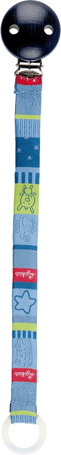 Sigikid 40827 - Cinta para chupete, color azul