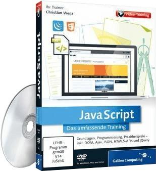Rheinwerk Verlag JavaScript: Das umfassende Tra...
