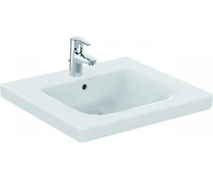 ideal standard connect freedom waschtisch 60 x 55 5 cm mit hahnloch mit berlauf e548201 ab. Black Bedroom Furniture Sets. Home Design Ideas