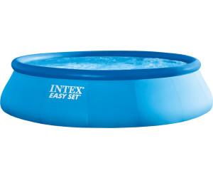 intex easy pool set 457 x 107 cm ab 119 00 preisvergleich bei. Black Bedroom Furniture Sets. Home Design Ideas