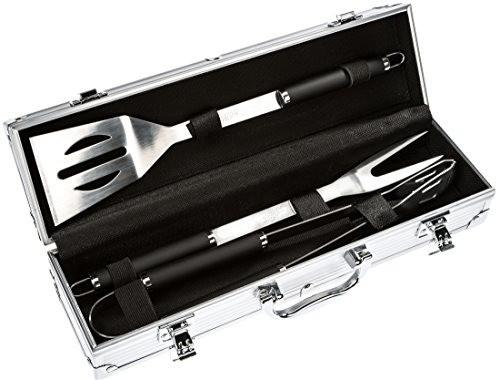 Bruzzzler Grillbesteck-Set 3-teilig im Koffer