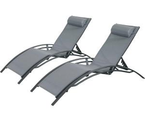 alice 39 s garden duo de bains de soleil louisa au meilleur prix sur. Black Bedroom Furniture Sets. Home Design Ideas