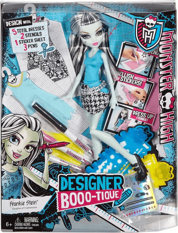 Monster High Frankie Dress Designer Doll (DNM27)