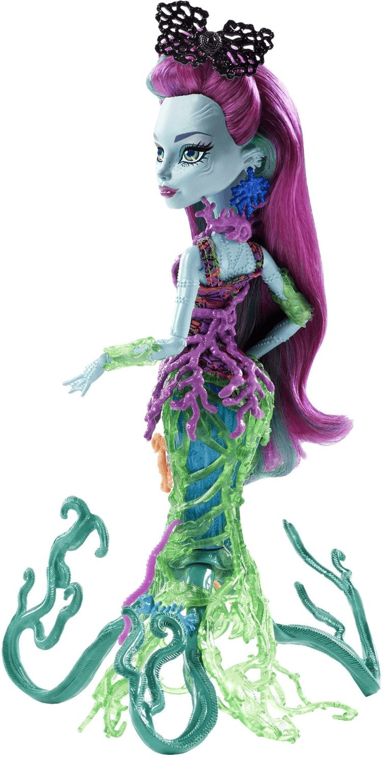 Monster High Greet Scarrier Reef Posea Reef