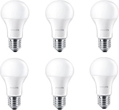 Philips LED Lampe 9 W (60 W) E27 warmweiß nicht...
