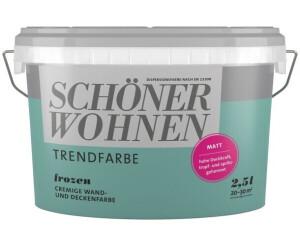 Schöner Wohnen Frozen Matt 25 L Ab 2138 Preisvergleich Bei